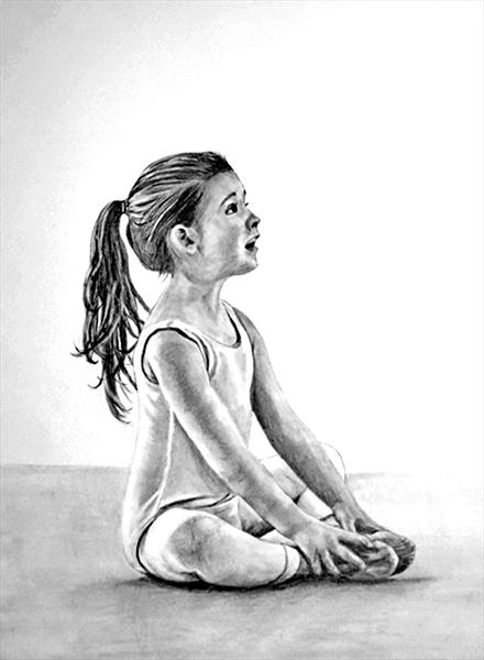 Young Ballerina by Maureen Crofts
