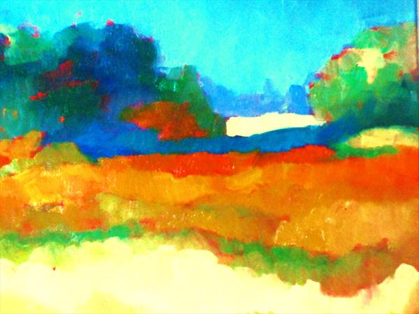 Country Landscape No. 2 by  Ann Cameron McDonald