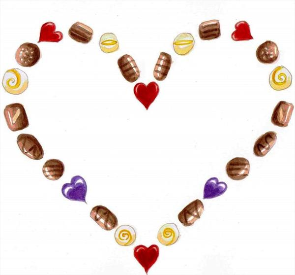 chocolates for you by Maureen Lacey