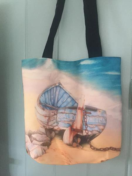 Salty Small Tote Bag by Judith Selcuk