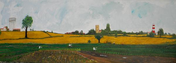 Happisburgh by Alice P Jenkins