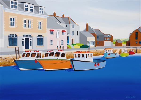 Padstow by Shirley Netherton