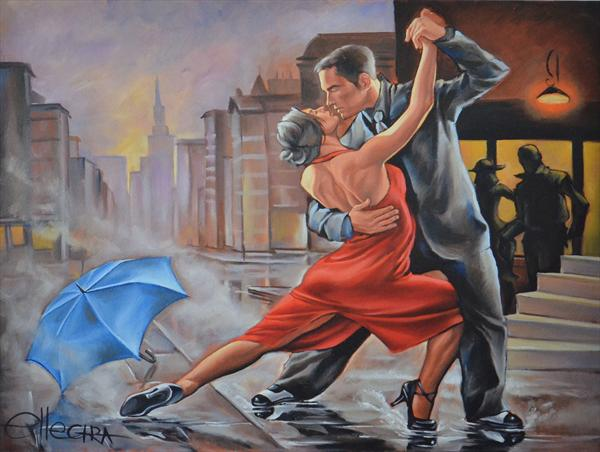 Dancing in the Rain- Limited Edition Print