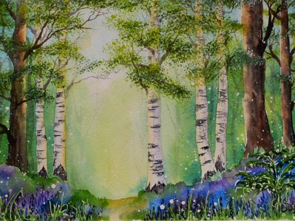Mystical Woods by Nicki Saunders