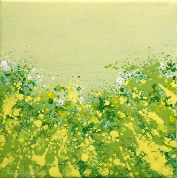 Wild Meadow Green by Roselind A'rt