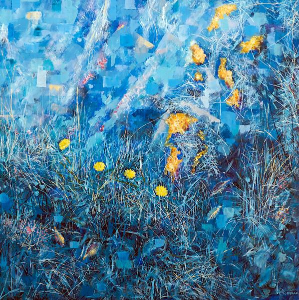 Colour-field Recollected Reflections 2 by Eddie Fordham
