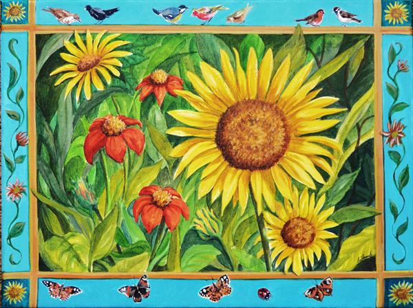 Sunflowers by Andrea Thomas
