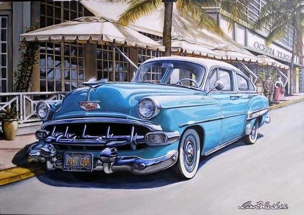 54 Chevrolet Bel Air