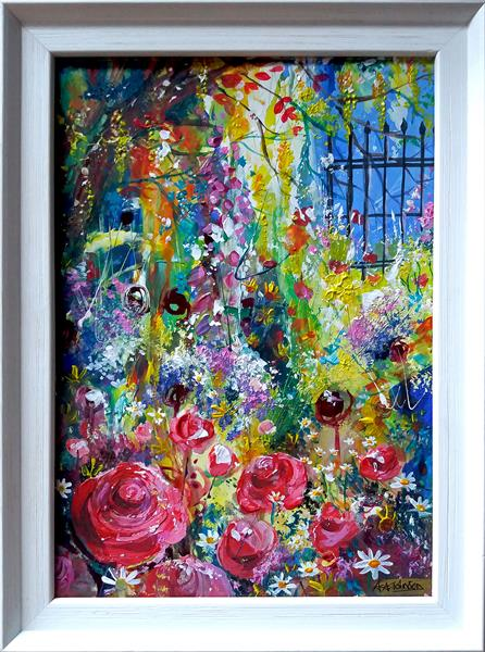 Impressionist Garden - Awash with colour by Andrew Alan Johnson