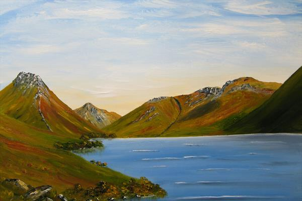 Wastwater, The Lake District by Sandra Hugill