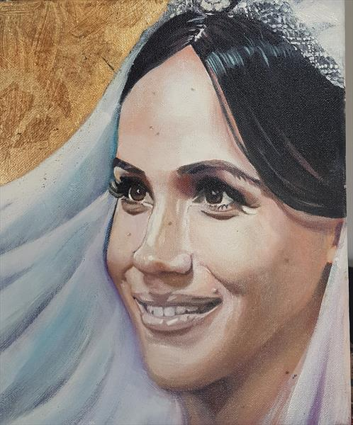PRINCESS MEGHAN  by Shirley Wright