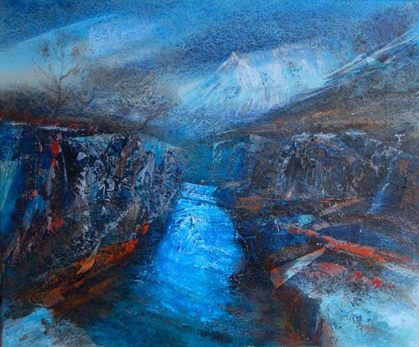 GORGE, RIVER ETIVE by Kevan Mcginty