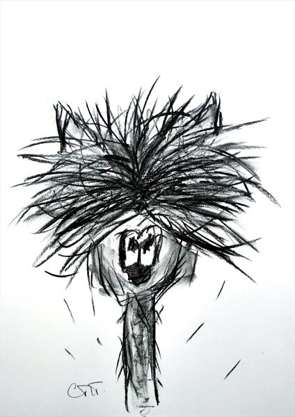 This Centre Parting Isn't Really Working.. (Limited Edition Print) by Carolyn Towers