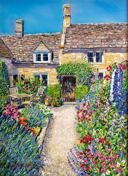 COUNTRY COTTAGE GARDEN by Diana Aungier - Rose