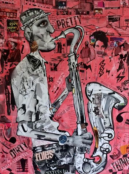 Sax addict 2 by Keith Mcbride