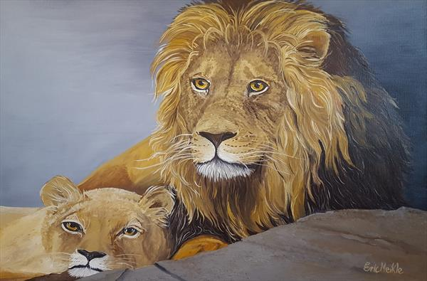 Lion's by Eric Meikle
