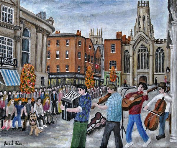 St Helen's Square -York by Ronald Haber