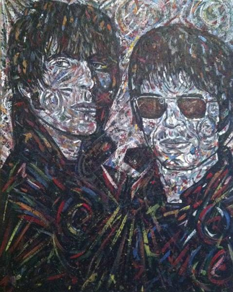 Liam and Noel (Commission) by John Tinney