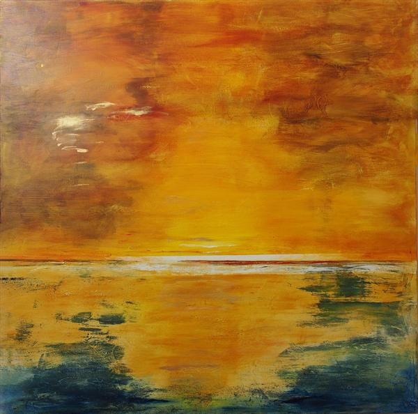 Gold Seascape by Timothy Huitson