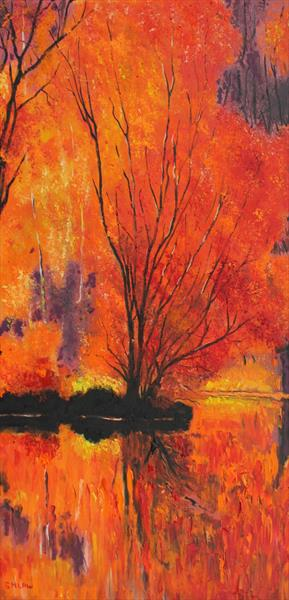 Flaming October by Stephen Michael Law