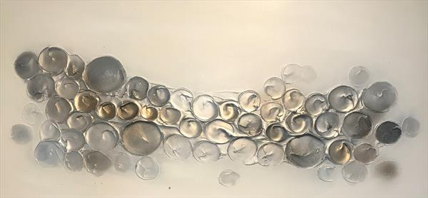 Bubbles - Greys/Silver by Kerry Bowler