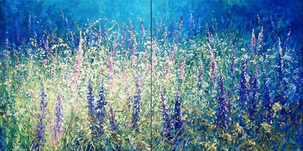 Jewels (large diptych)
