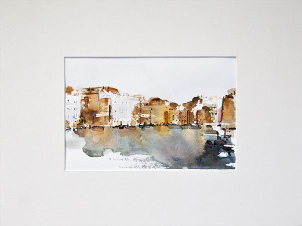 Venice Watercolour study No 5 by Ian Mckay