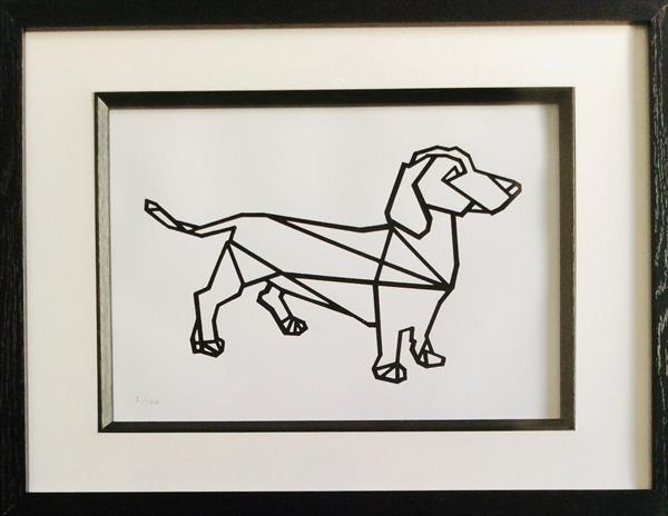 Dachshund by sharon coles