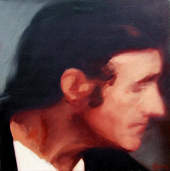 Male Profile by John Byrne