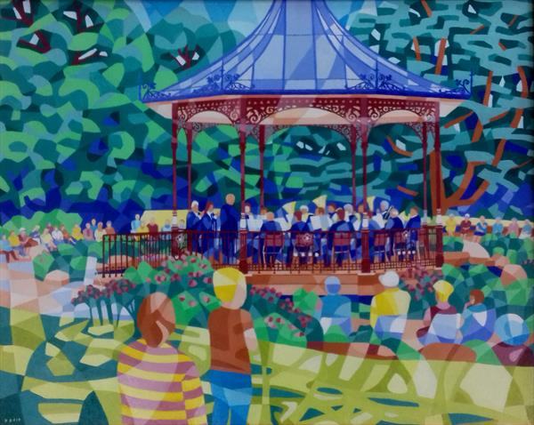 Band at the Park by David Best