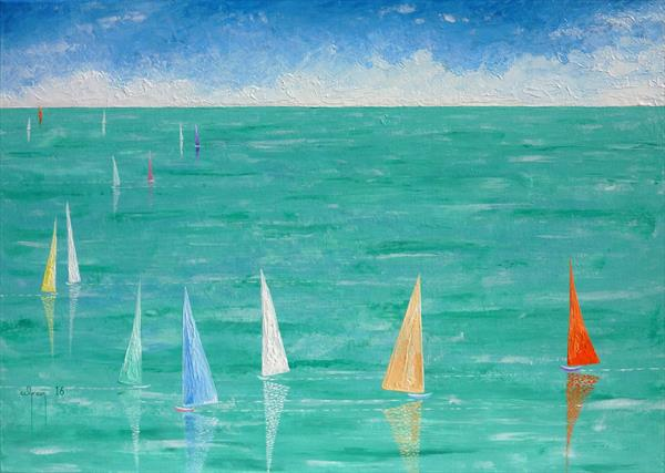 Mad dash to Cowes by Warren Green
