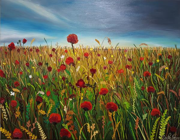 The Glory of Poppies  by Donka Stone