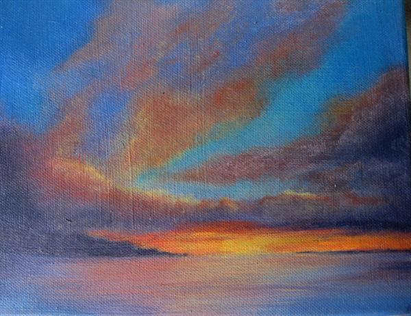 Evening Light REDUCED  by Sue George