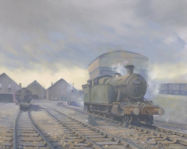 Aberdare Engine Sheds by Richard Picton