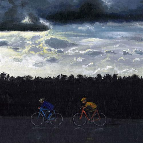 Cycling Between Storms by David Gander