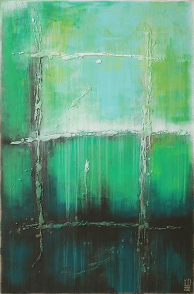 Sea Green UP - 49A by Ronald Hunter