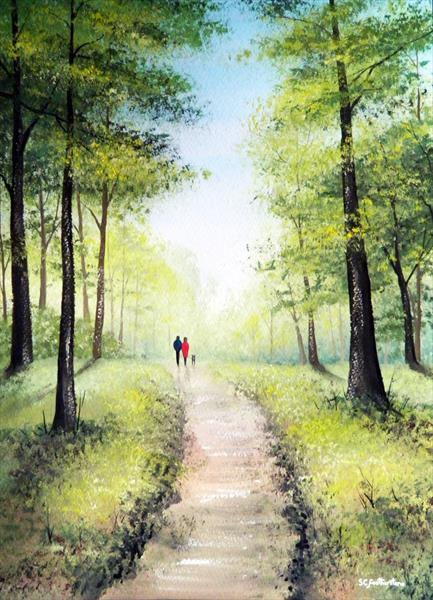 Forest Walk by Sarah Featherstone