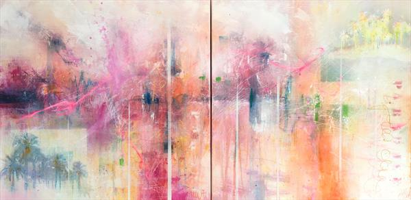 longing for paradise III (diptych)