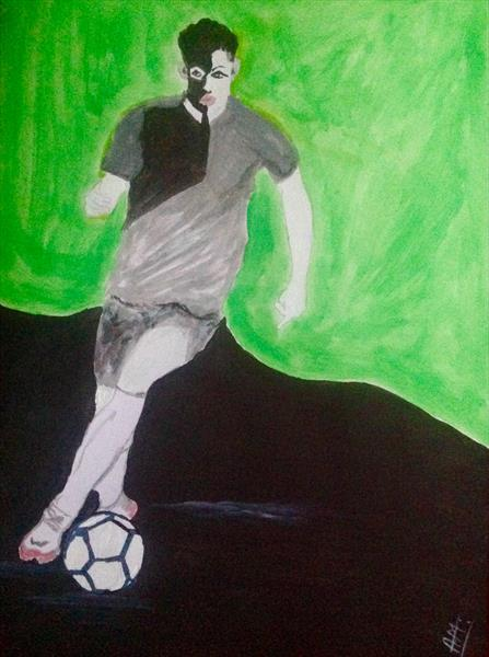Come on let's football series 2 of 3 by Anushree Mish