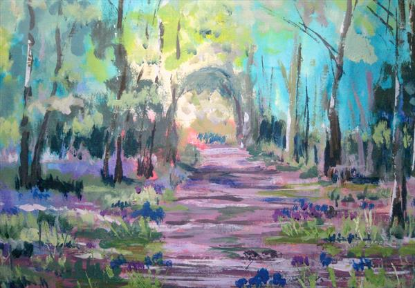 Bluebell wood1 by Jackie Shaw
