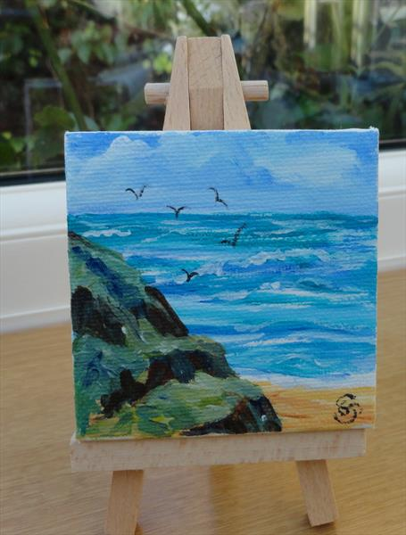 Soaring gulls by Sue Spence