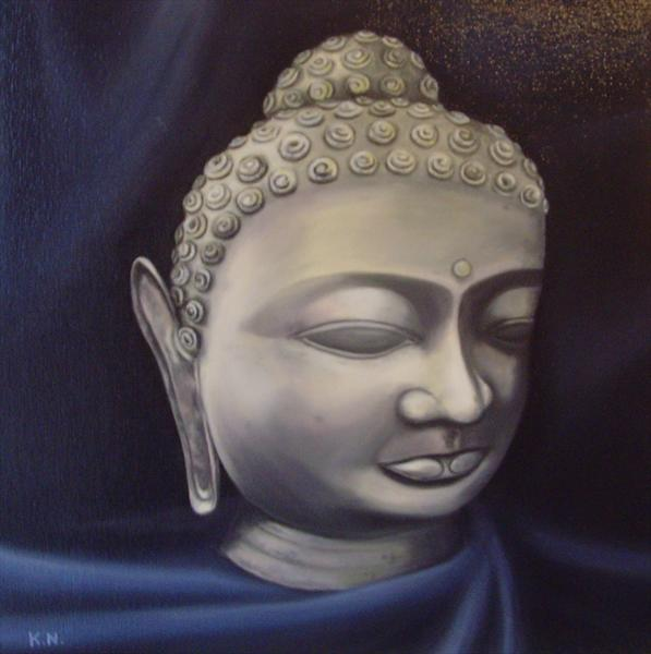 Golden Buddha by Kerri Nathwani