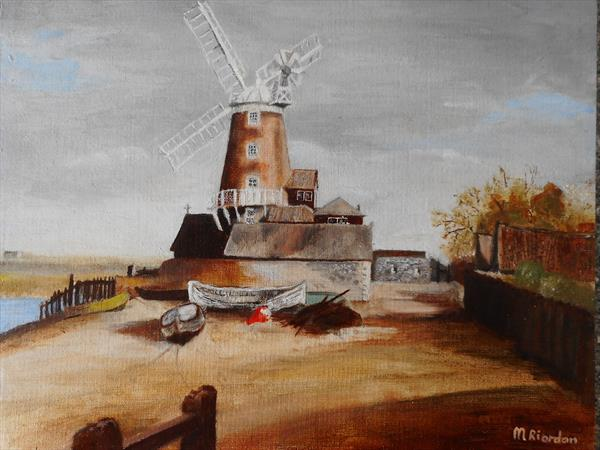 WINDMILL, CLEY-NEXT-THE-SEA by Margaret Riordan