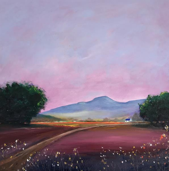 Pen y Fan Dusk by Christopher Langley