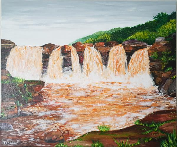 Gira Waterfall by Sharina Chauhan
