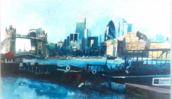Tower Bridge Moorings by Will Smith