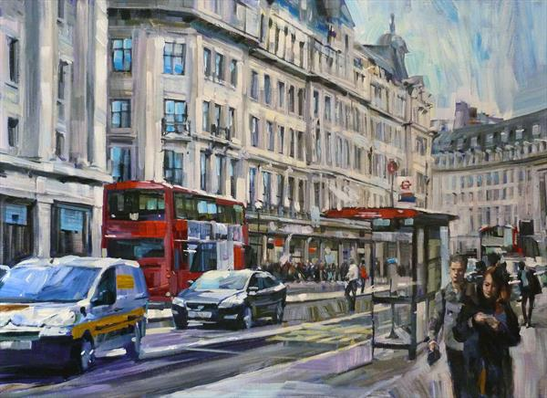 Regents St London by Colin Brown