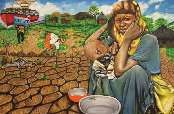 Hunger in the Land of Plenty by O Yemi  Tubi