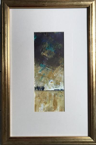 Shadowless swoons the day ( framed original oil )