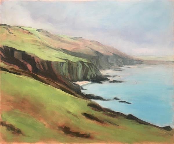 Cliffside Mist by Lizzie Butler
